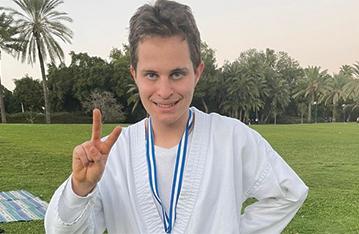 עידן לוי אלוף העולם בקראטה